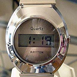 Old LCD digital  watches