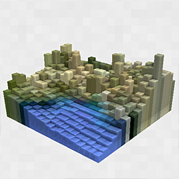 Blocky Earth