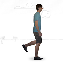 CSS3 Walking Man