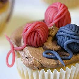 Knitted Cup Cakes