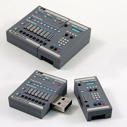 Drum machine flash drive