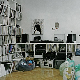 German DJ's living rooms