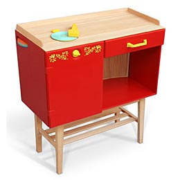 Fisher Price Record Player sideboard