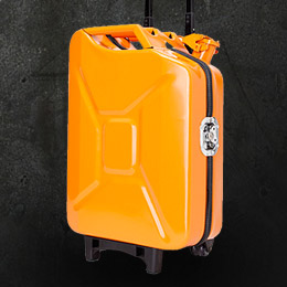 Jerrycan suitcase
