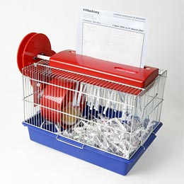 Hamster shredder