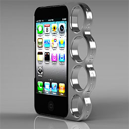 iPhone knuckle duster case