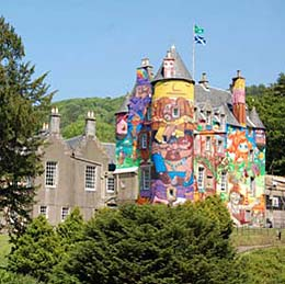 The Graffiti Project on Kelburn Castle