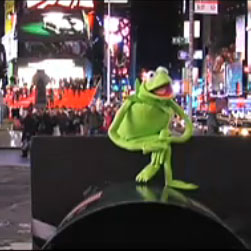 Kermit does LCD Soundsystem
