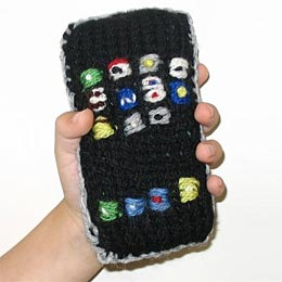 Knit iPhone