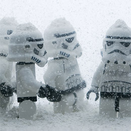 Legos on Hoth