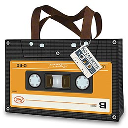 Mixtape tote bag