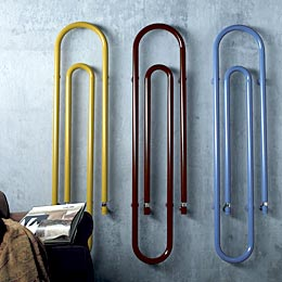 Paperclip radiators
