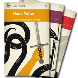 Harry Potter Penguin books