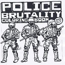 Police Brutality Coloring Book