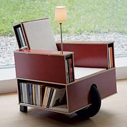 Portable reading seat
