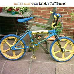 Raleigh Tuff Burner