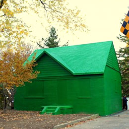 Real life Monopoly house