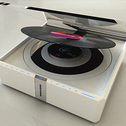 Record CD player