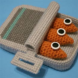 Stitched toy food