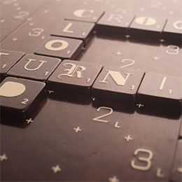 Scrabble (Typography Edition)