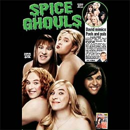 David Walliams does The Spice Girls