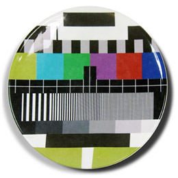 Test card plate