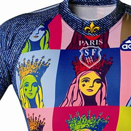 Andy Warhol rugby shirt