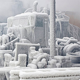 Chicago's Freezing Fire